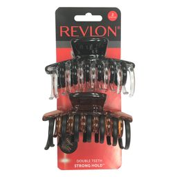 Revlon Strong Hold Hair Claw Clips, 2 Count   Walmart (US)