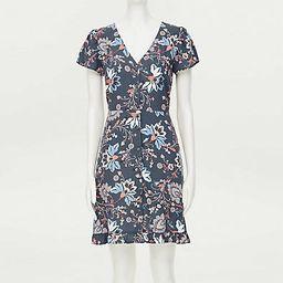 Loft Garden Flutter Button Dress | LOFT Outlet