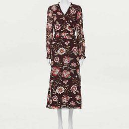 Loft Floral Smocked Waist Dress | LOFT Outlet