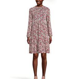 Loft Garden Tiered Dress | LOFT Outlet