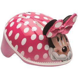 Bell Disney Minnie Mouse 3D Bike Helmet, Pink Polka Dots, Toddler 3+ (48-52cm) | Walmart (US)