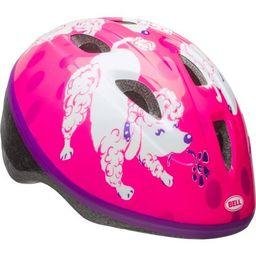 Bell Sprout Girls Bike Helmet, Pink/Purple Poodles, Infant 1+ (47-52cm) | Walmart (US)