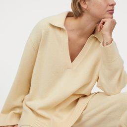 Fine-knit Merino-blend Sweater | H&M (US)