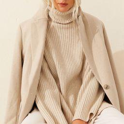 Ribbed Turtleneck Sweater | H&M (US)