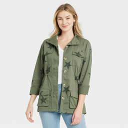 Women's Long Sleeve Star Jacket - Knox Rose™ | Target