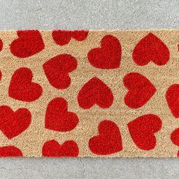 Heart Doormat, Cute Doormat, Valentine's Day Decor, Welcome Mat, Love, Outdoor Rug, Valentine's D...   Etsy (US)