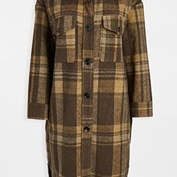 Plaid Long Jacket   Shopbop