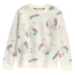 Kids' Cozy Unicorn Sweater | Nordstrom