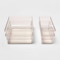 4pc Refrigerator Storage Bin Set - Made By Design™ | Target
