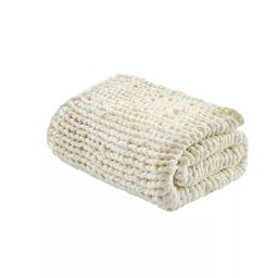 "50""x60"" Chunky Double Knit Handmade Throw Blanket | Target"