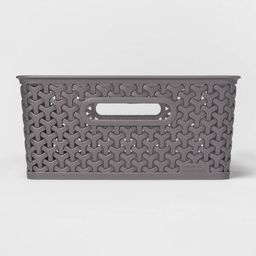 Y-Weave Medium Rectangle Bin - Room Essentials™ | Target