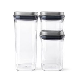 OXO 3pc SteeL POP Container Set | Target