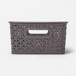 "4"" x 7"" Y-Weave Small Storage Bin - Room Essentials™ | Target"