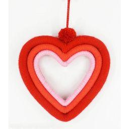 Heart Wreath Valentine's Fiber Wrapped - Spritz™ | Target