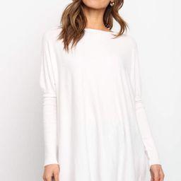 Jemima Sweater - White   Petal & Pup (US)