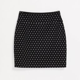 Lou & Grey Dotted Ponte Mini Skirt | LOFT