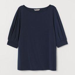 Crêped Jersey Top | H&M (US)