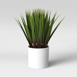 """10"""" x 6"""" Artificial Grass Arrangement - Threshold™   Target"""