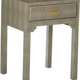 Sterling Home Sands Point Accent Side Drawer end table, Gray | Amazon (US)