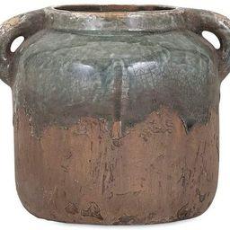 IMAX 13326 Bardot Blue Stone Small Ceramic Vase | Amazon (US)