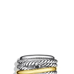 Crossover Narrow Ring with Gold   Nordstrom
