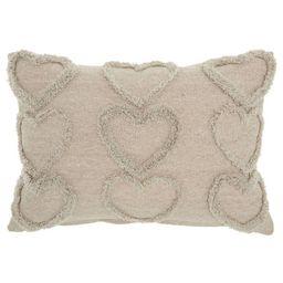 Life Styles Raised Hearts Throw Pillow - Mina Victory | Target