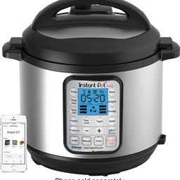 Instant Pot - 6-Quart Bluetooth Enabled Pressure Cooker - brushed stainless steel | Best Buy U.S.
