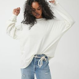 UO Carnaby Recycled Cotton Oversized Tee | Urban Outfitters (US and RoW)
