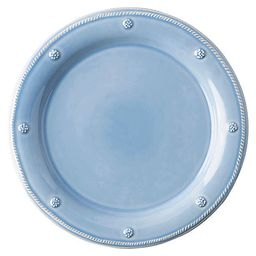 Berry & Thread Dinner Plate, Chambray | One Kings Lane