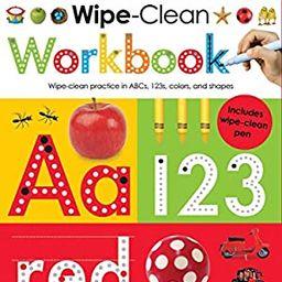 Amazon.com: Pre-K Wipe-Clean Workbook: Scholastic Early Learners (Wipe-Clean) (9780545903240): Sc...   Amazon (US)