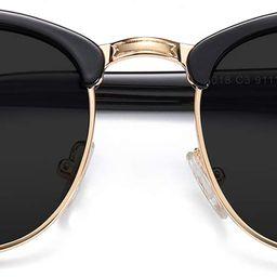 Retro Semi Rimless Blue Light Blocking Glasses Half Horn Rimmed Eyeglasses SJ5018   Amazon (CA)