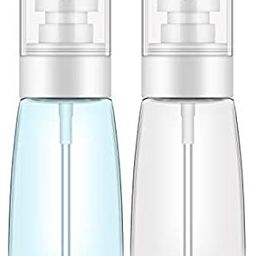 Spray Bottle Travel Size, Yamyone 2Pcs 60ml/2oz Fine Mist Hairspray Bottle for Essential Oils, Em...   Amazon (US)