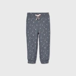 Grayson Mini Toddler Girls' Star Jogger Pants - Navy | Target