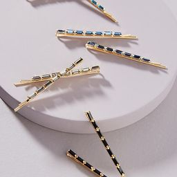 Tonal Bobby Pin Set By Anthropologie in Blue Size ALL   Anthropologie (US)