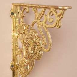 Madison Bracket By Anthropologie in Gold | Anthropologie (US)