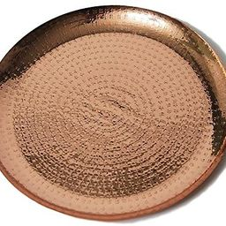 Alchemade Copper Metallic 13 inch Decorative Charger Plate   Amazon (US)