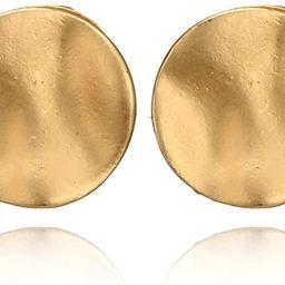 Vintage Earrings Geometric Circular Studs Earring for Women and Girls. | Amazon (US)
