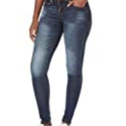 V.I.P. JEANS Women's Skinny Jeans, Vintage Dark Blue, 3 | Amazon (US)