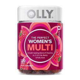 OLLY Women's Multivitamin Gummy, Health & Immune Support, Berry, 130 Ct | Walmart (US)