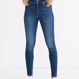 """10"""" High-Rise Skinny Jeans in Bradshaw Wash   Madewell"""