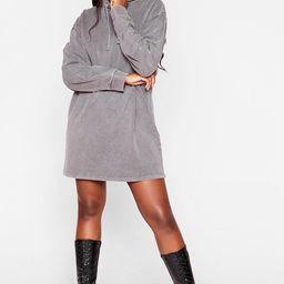 Hey Acid Wash is Going On Plus Hoodie Dress | NastyGal (US & CA)