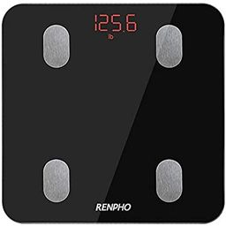 RENPHO Bluetooth Body Fat Scale Smart Digital Bathroom Scale Wireless Weighing Body Composition A... | Amazon (CA)