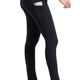 Yoga Pants for Women Leggings with Side Pockets Workout Running Tights | Amazon (CA)