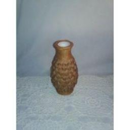 Vintage Wicker Vase With A Milk Glass Insert | Etsy (US)