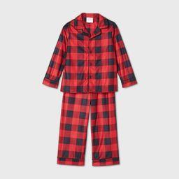 Toddler Holiday Buffalo Check Flannel Matching Family Pajama Set - Wondershop Red 18M | Target