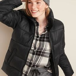 Frost-Free Zip-Front Puffer Jacket for Women | Old Navy (US)