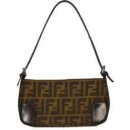 Fendi Bag Authentic Zucca Monogram Baguette Shoulder Mini Bag Vintage 90S Genuine | Etsy (UK)