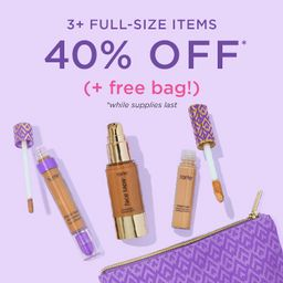 3+ items for 40% OFF* code: SHAPETAPE    new shades   tarte cosmetics (US)