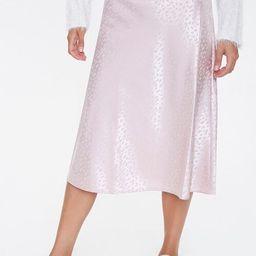 Satin Slip Skirt   Forever 21 (US)