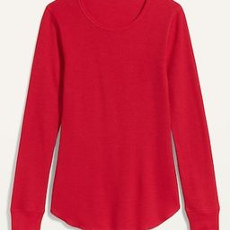 Thermal-Knit Long-Sleeve Tee for Women   Old Navy (US)